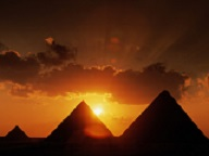 Pyramids-at-Sunset-Cairo-Egypt2